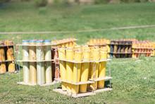 Fireworks Mortar Tubes Set Up ...
