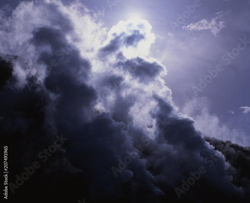 Fototapety, obrazy: 那須岳の噴煙