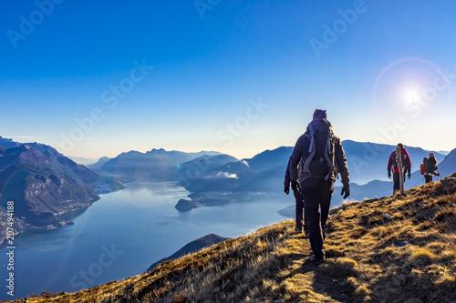Fotografia  Trekking sul Lago di Como