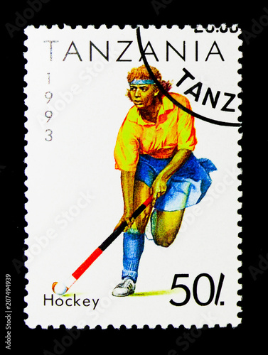 Poster  Hockey, Sport serie, circa 1993