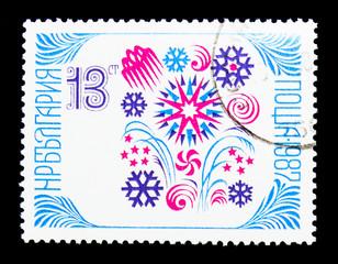 New Year 1987, serie, circa 1986