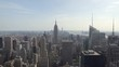 Establishing shot of Skyline view of New York City.
