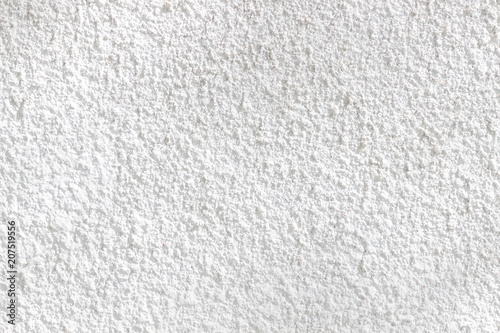 Fotobehang Stof White plastered wall texture or background