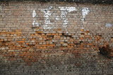 Old Brick Wall in Nepal