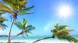 Lebensfreude, Ferien, Tourismus, Sommer, Sonne, Strand, Meer, Glück, Entspannung, Meditation: Traumurlaub an einem einsamen, karibischen Strand :)