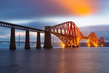 Evening View Forth Bridge, Rai...
