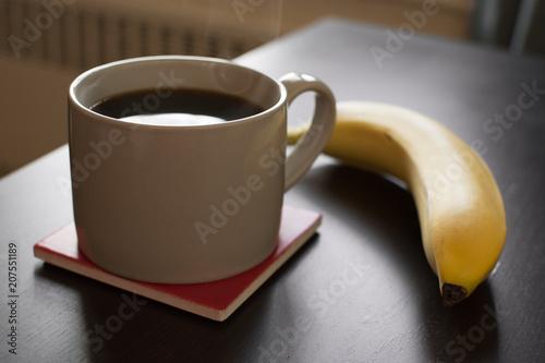 Photo  Coffee and Banana
