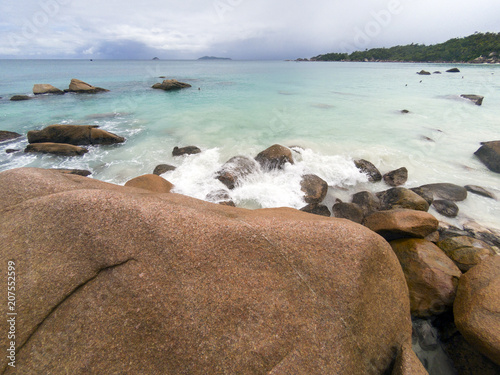 Fotografie, Obraz  Amazing Seychelles Beach