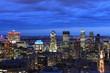 Montreal Canada Skyline at Night