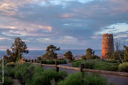 Obraz na plátne Desert View Watchtower