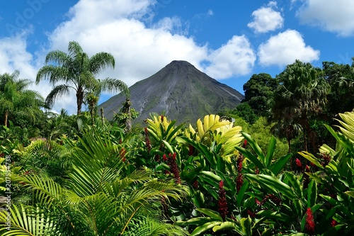 Arenal volcano Canvas