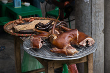 Roast Dog Meat