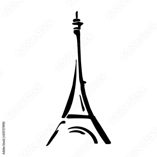 Obraz Eiffel tower - fototapety do salonu