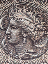 Arethusa Portrait From Greek Money