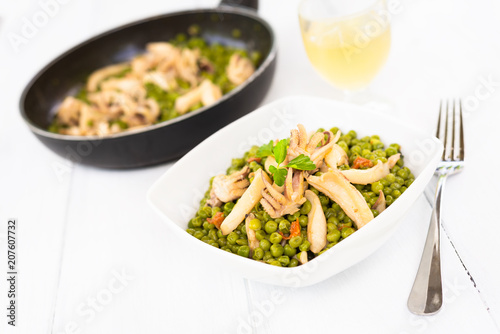 Seppie e piselli, Italian Food