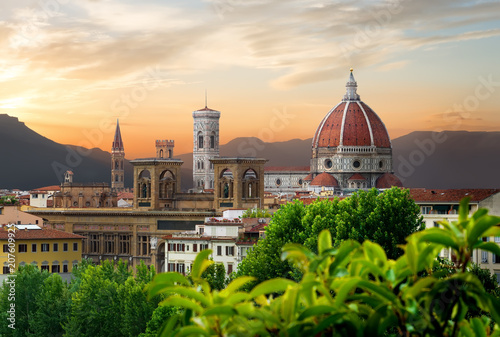 Aluminium Prints Florence Cathedral of Saint Mary