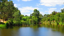 Torrens River In Adelaide, Aus...