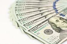 Fan Of New 100 Dollar Banknote...