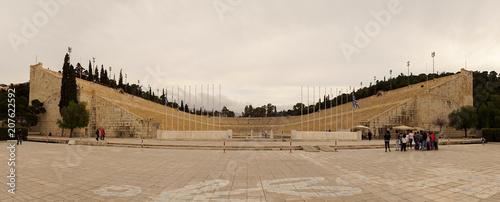 Zdjęcie XXL Antyczny teatr w Ateny, Grecja.