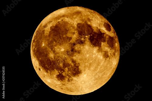 Lunar eclipse - Full Moon Luna Wallpaper Mural