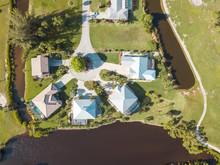 Aerial Houses Residential Flor...