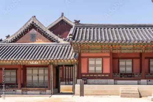 Tuinposter Aziatische Plekken Gyeongbokgung Palace