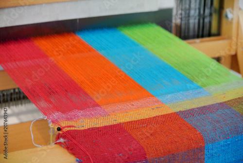 loom for weaving Fototapeta