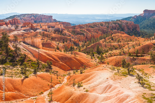 Keuken foto achterwand Oranje eclat Amazing seen at Bryce Canyon in the US