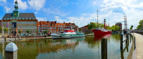 Obraz Emden im wunderschönen Ostfriesland  - fototapety do salonu