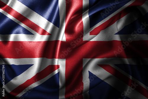 Poster  United Kingdom Silk Satin Flag