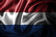 canvas print picture Netherlands Silk Satin Flag