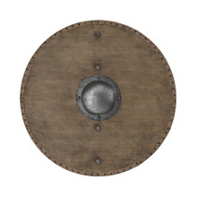 Medieval Round Wooden Shield O...