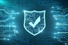 Web Safety And Protection Texture