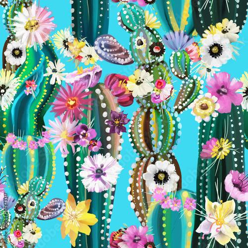 recznie-malowane-kwitnacy-kaktus-kaktusy-sukulenty-wzor-colofrul-abstrakc
