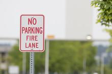 No Parking Fire Lane Sign Clos...