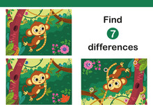 Find 7 Differences Education G...