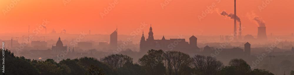 Fototapety, obrazy: Krakow Old Town in early morning