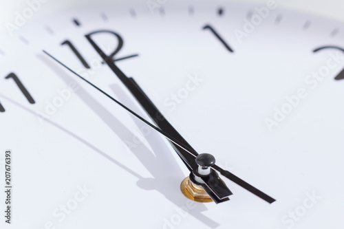 Cuadros en Lienzo Round clock midnight