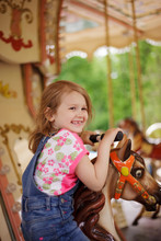 Girl On The Merry-go-round