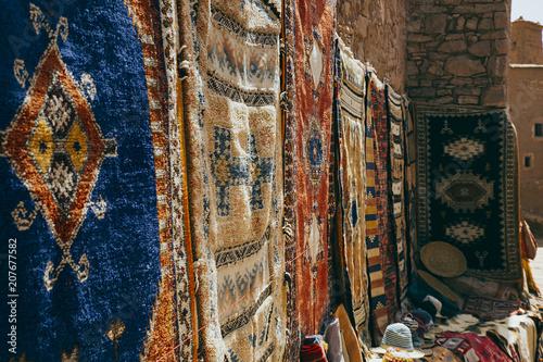 Cadres-photo bureau Con. Antique Ait Ben Haddou Kasbah marketplace