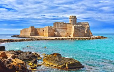 Dvorac u Isola di Capo Rizzuto, Kalabrija, Italija
