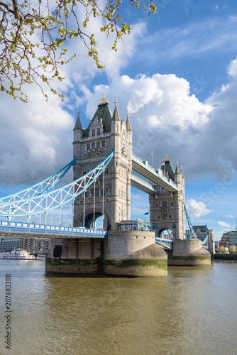 Keuken foto achterwand Brug Tower Bridge in London