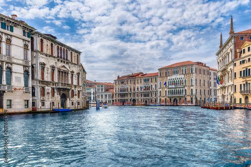 Fotografie, Obraz  Scenic architecture along the Grand Canal in Venice, Italy