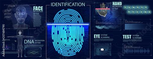 Photo Biometrics Set HUD Elements
