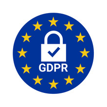 GDPR Sign Illustration