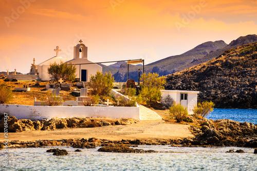 Keuken foto achterwand Historisch geb. Agios Fokas Peloponnese Greece