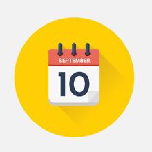 Vector Of Day Calendar With Da...