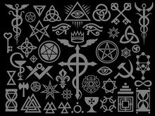 Medieval Occult Signs And Magi...