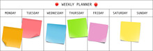 Weekly Planner With Memory Not...