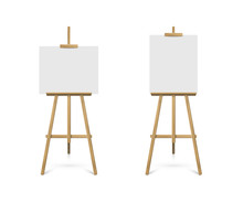Easels With Horizontal And Ver...